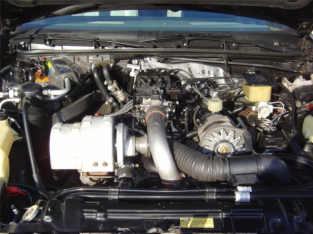 1986 BUICK REGAL T-TYPE COUPE - Engine - 64149