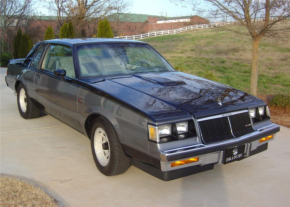 1986 BUICK REGAL T-TYPE COUPE - Front 3/4 - 64149