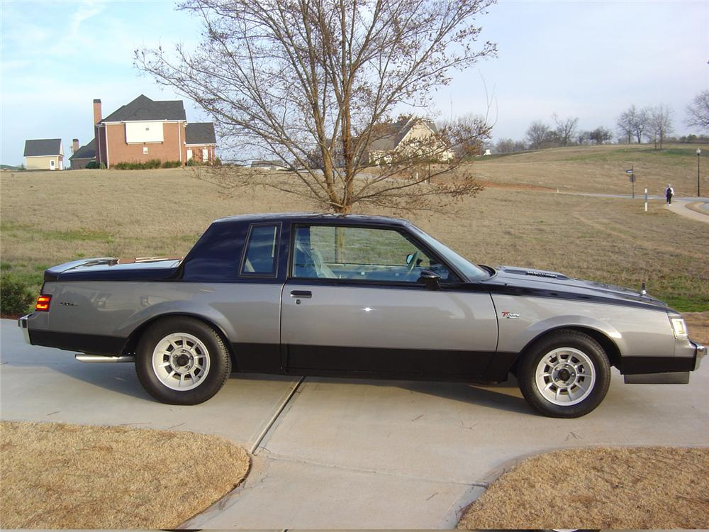 1986 BUICK REGAL T-TYPE COUPE - Side Profile - 64149