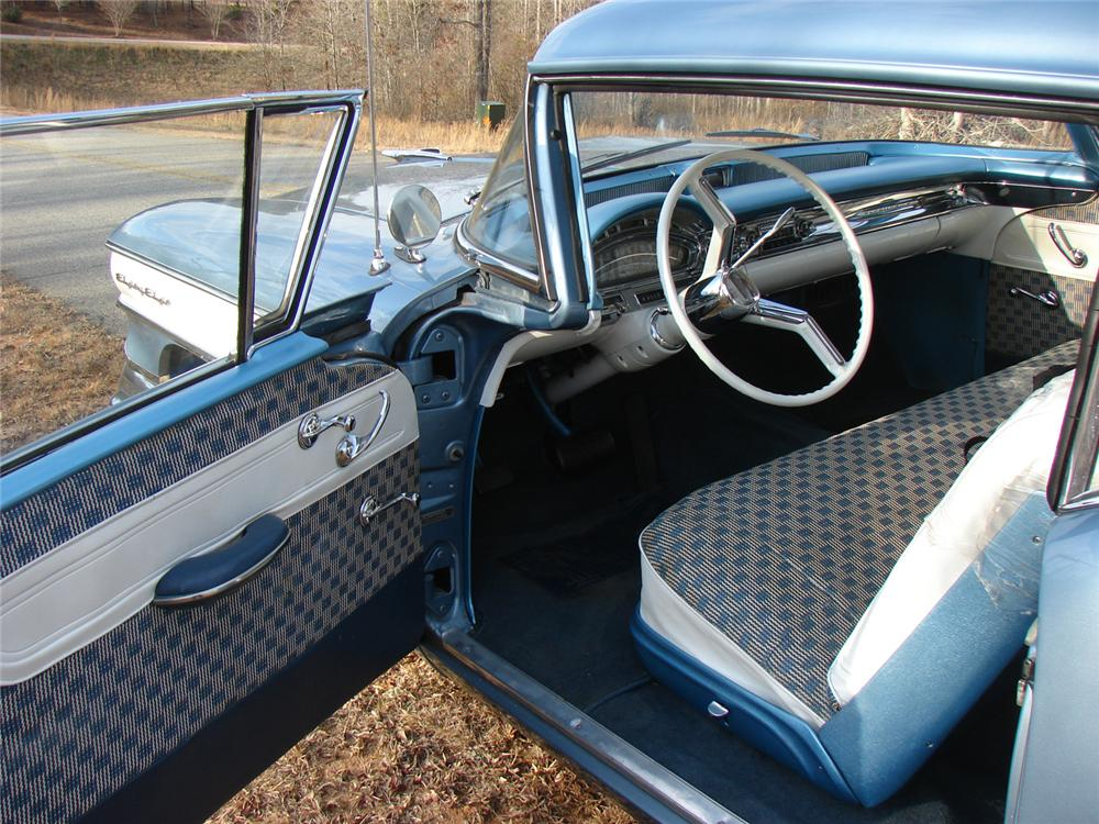 1958 OLDSMOBILE DYNAMIC 88 2 DOOR COUPE - Interior - 64157