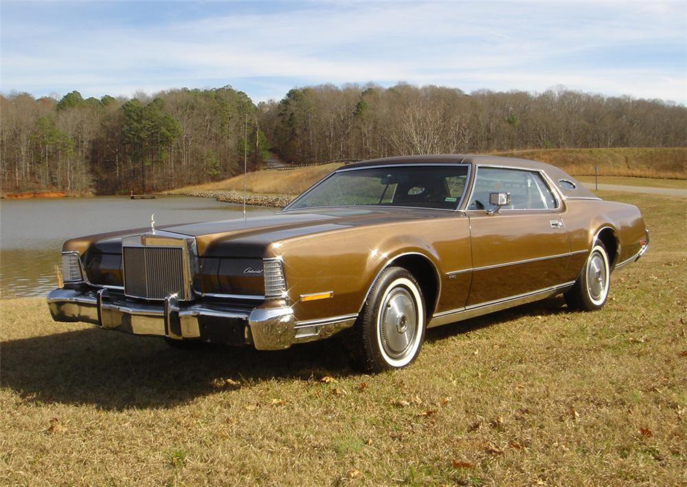 1973 LINCOLN CONTINENTAL MARK IV 2 DOOR COUPE - Front 3/4 - 64160