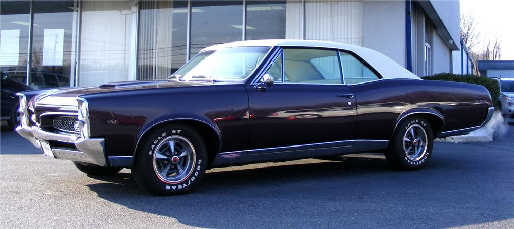 1967 PONTIAC GTO 2 DOOR HARDTOP - Side Profile - 64188