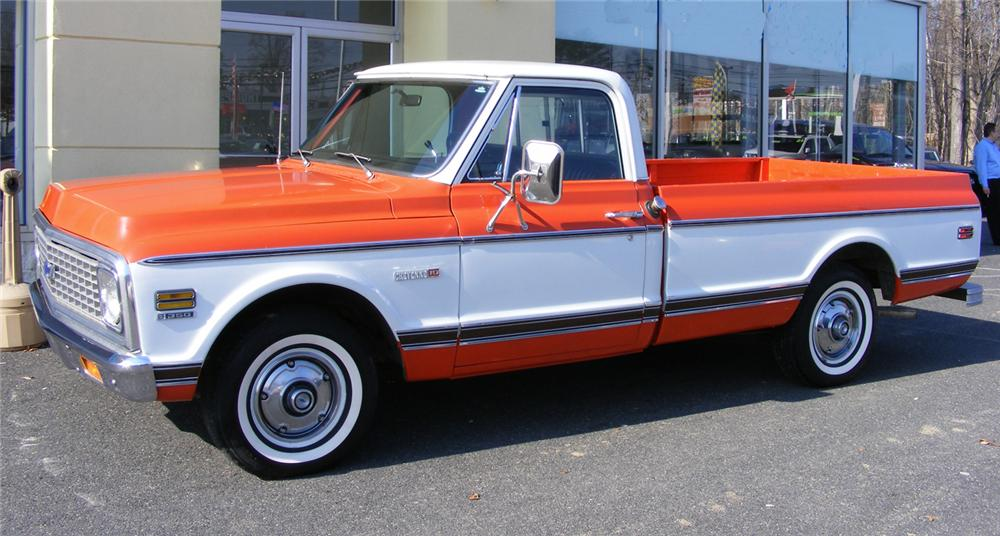 1972 CHEVROLET C-10 PICKUP - Front 3/4 - 64193