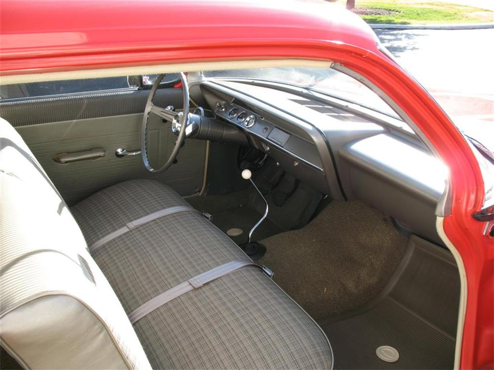 1962 CHEVROLET BISCAYNE 2 DOOR HARDTOP - Interior - 64199