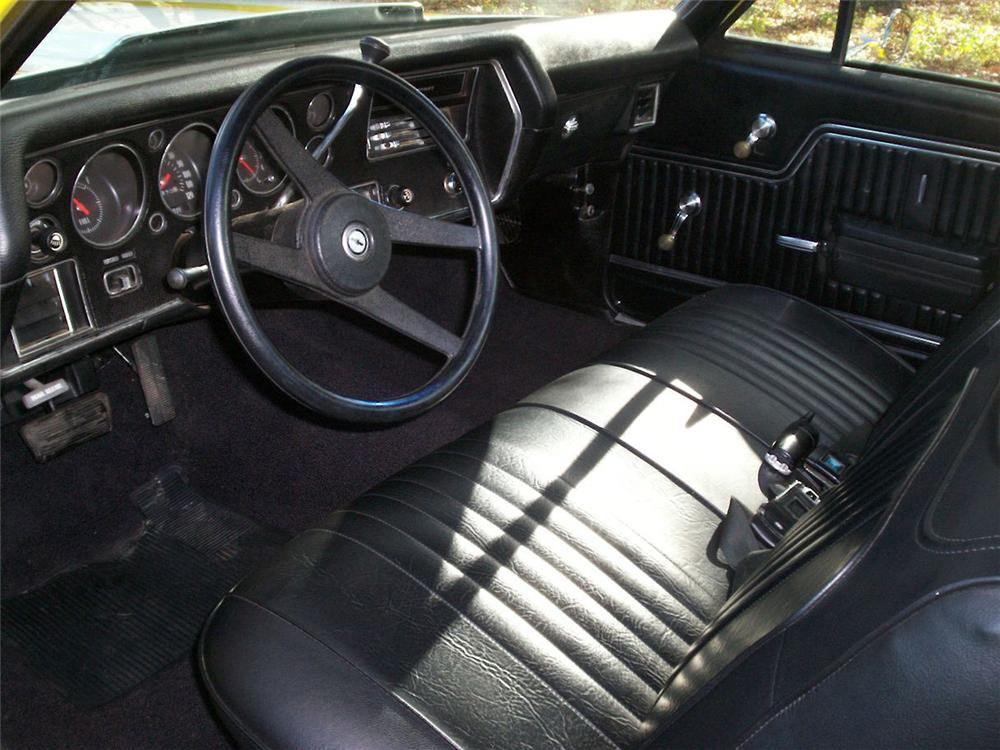 1971 CHEVROLET EL CAMINO PICKUP - Interior - 64200