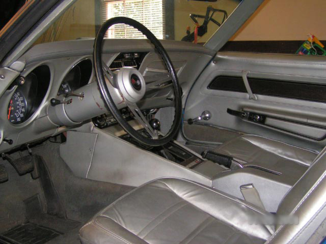 1975 CHEVROLET CORVETTE CONVERTIBLE - Interior - 64202
