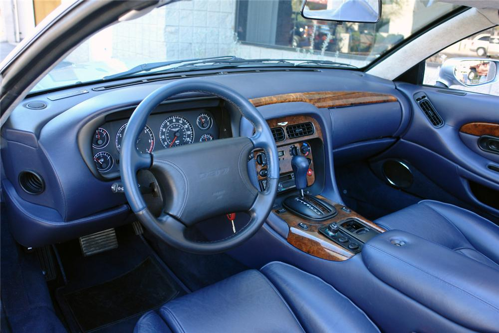 1997 ASTON MARTIN DB 7 CONVERTIBLE - Interior - 64208
