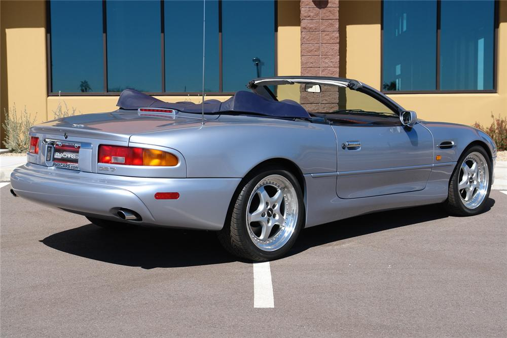1997 ASTON MARTIN DB 7 CONVERTIBLE - Rear 3/4 - 64208