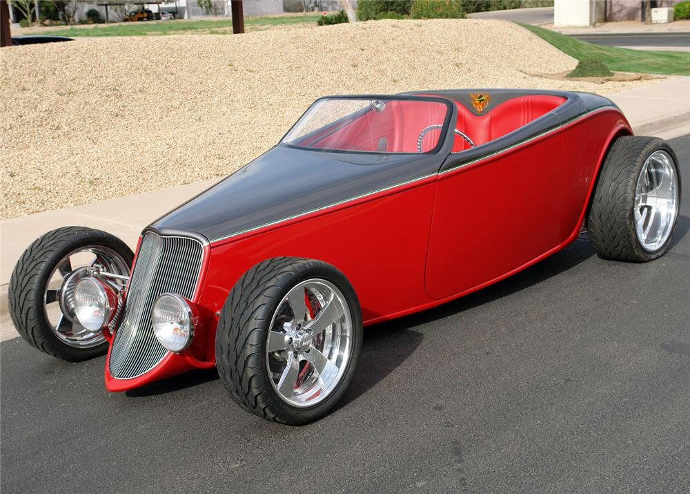 1933 FORD SPEEDSTAR ROADSTER - Side Profile - 64213