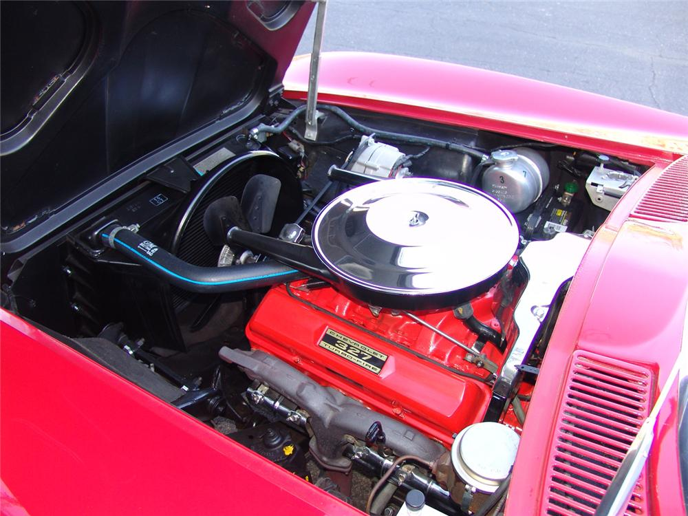 1965 CHEVROLET CORVETTE CONVERTIBLE - Engine - 64214
