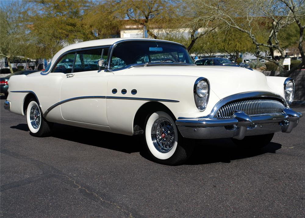 2 Door Convertible >> 1954 BUICK SUPER RIVERA 2 DOOR HARDTOP - 64217