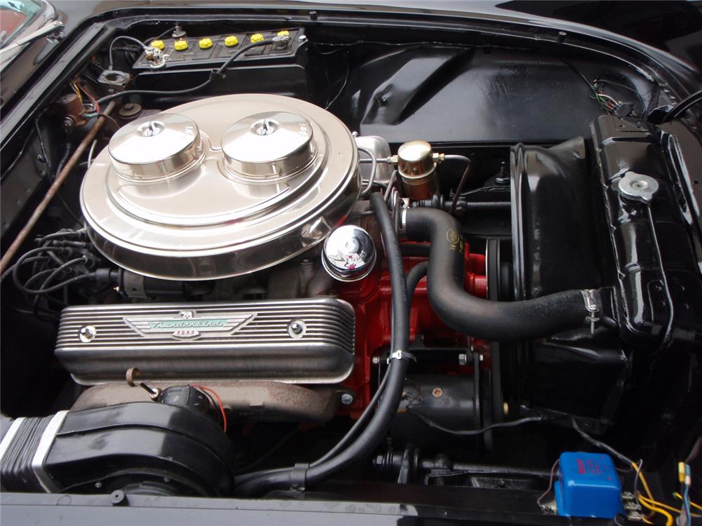 1957 FORD THUNDERBIRD E CONVERTIBLE - Engine - 64219