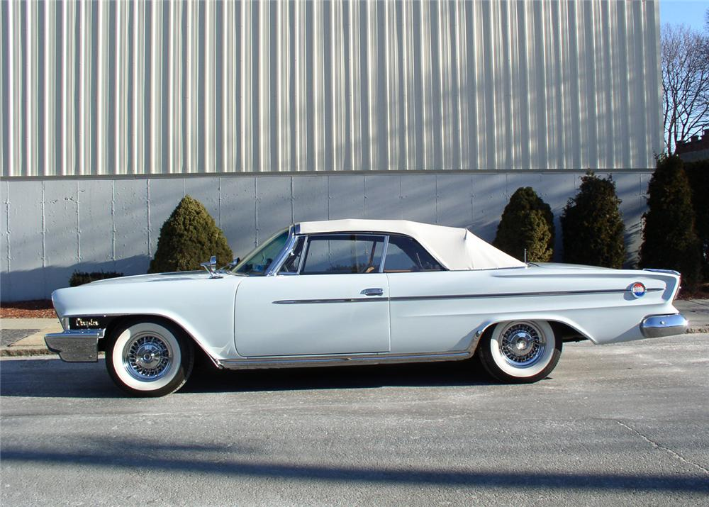 1962 CHRYSLER 300 2 DOOR CONVERTIBLE - Side Profile - 64222