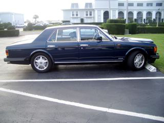 1993 BENTLEY BROOKLANDS 4 DOOR SEDAN - Side Profile - 64235
