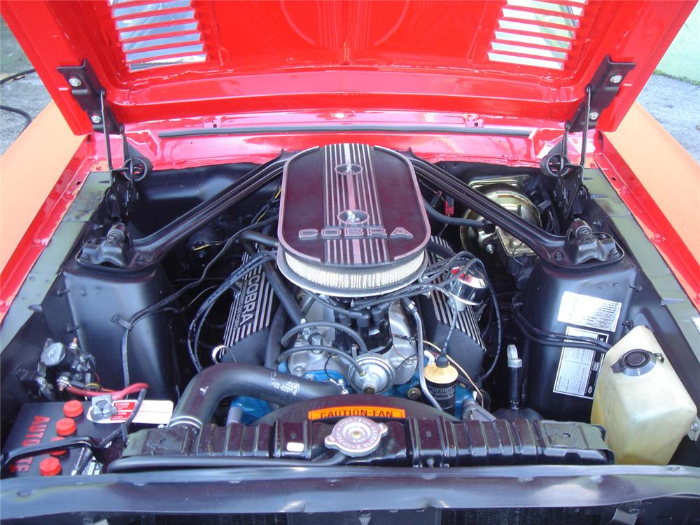 1968 SHELBY GT350 CONVERTIBLE - Engine - 64243
