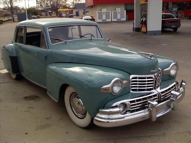 1948 LINCOLN CONTINENTAL 2 DOOR COUPE - Front 3/4 - 64263