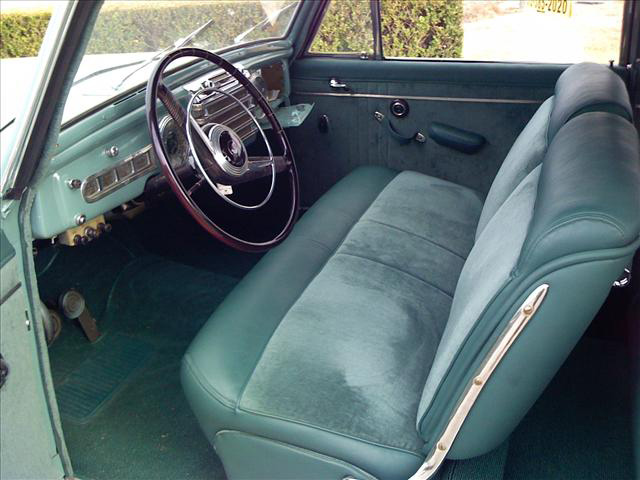 1948 LINCOLN CONTINENTAL 2 DOOR COUPE - Interior - 64263