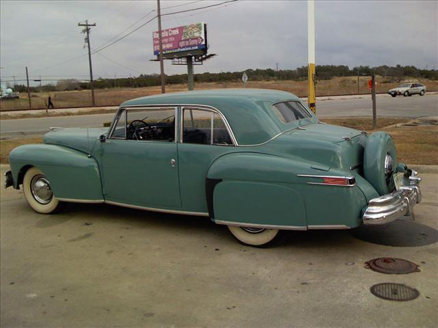 1948 LINCOLN CONTINENTAL 2 DOOR COUPE - Side Profile - 64263