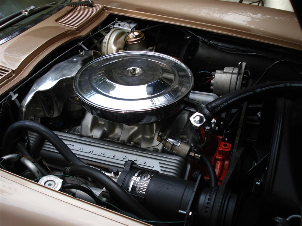 1964 CHEVROLET CORVETTE CONVERTIBLE - Engine - 64265