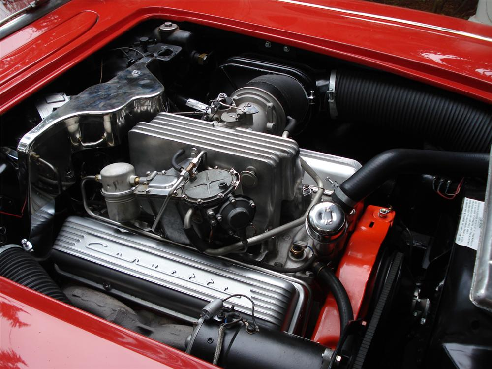 1960 CHEVROLET CORVETTE FI CONVERTIBLE - Engine - 64267