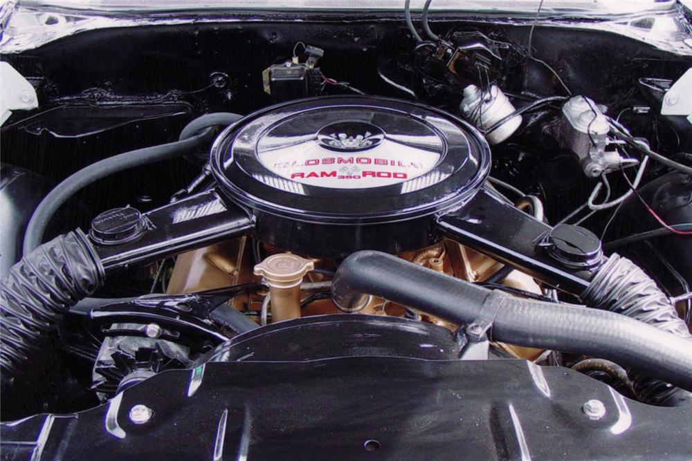 1969 OLDSMOBILE CUTLASS W31 HOLIDAY CONVERTIBLE - Engine - 64274
