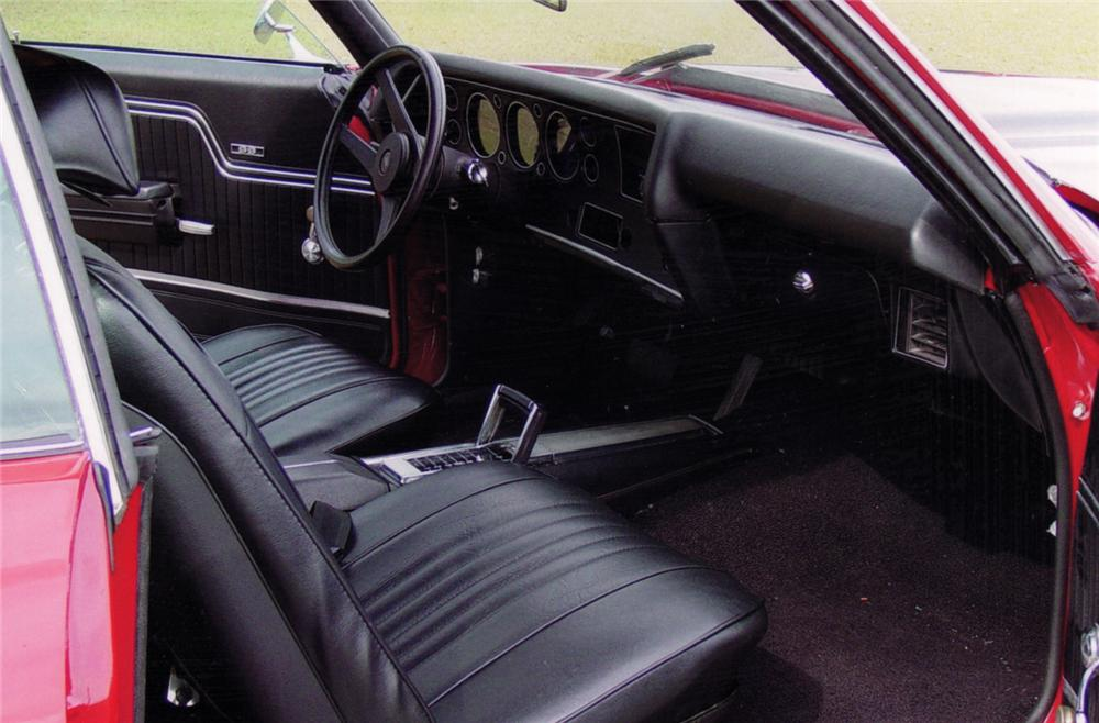 1971 CHEVROLET CHEVELLE COUPE - Interior - 64275
