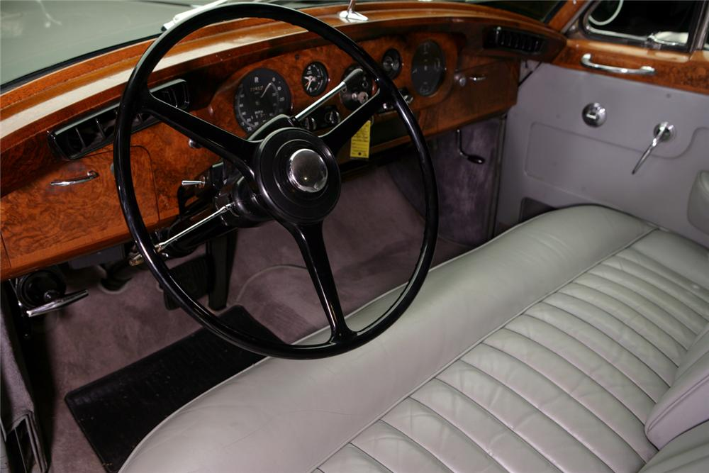 1960 ROLLS-ROYCE SILVER CLOUD II 4 DOOR SEDAN - Interior - 64278