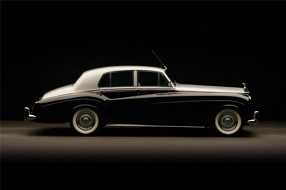 1960 ROLLS-ROYCE SILVER CLOUD II 4 DOOR SEDAN - Side Profile - 64278