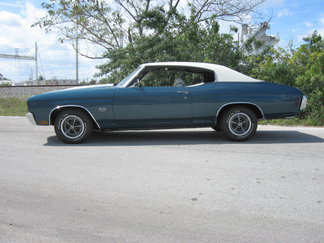 1970 CHEVROLET CHEVELLE MALIBU SS 2 DOOR COUPE - Front 3/4 - 64295