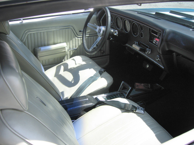 1970 CHEVROLET CHEVELLE MALIBU SS 2 DOOR COUPE - Interior - 64295