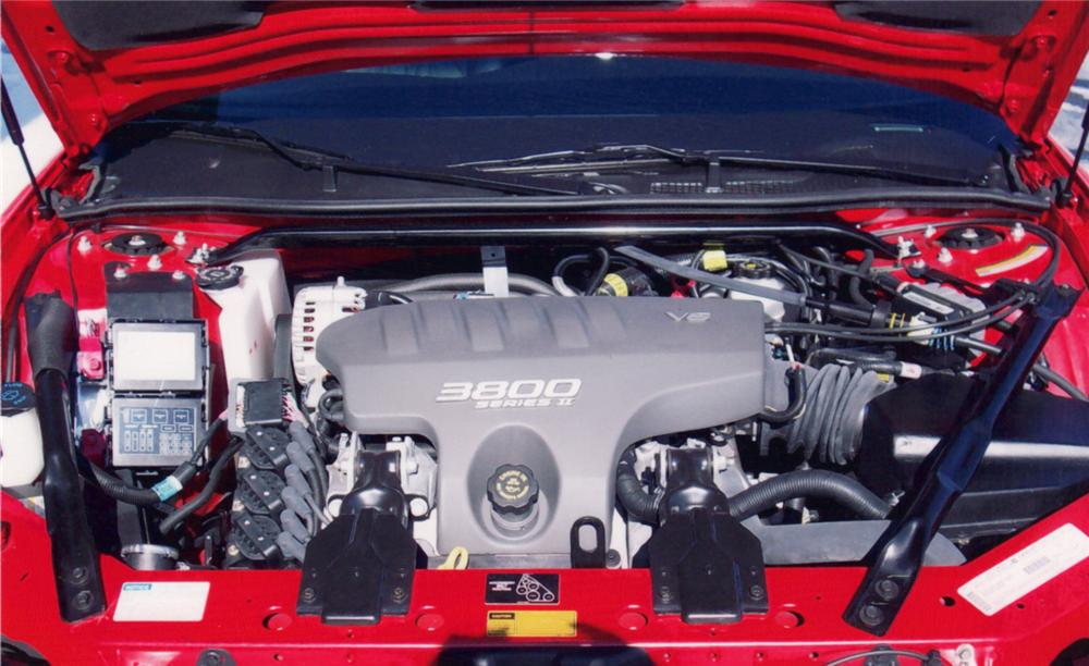 "2000 CHEVROLET MONTE CARLO SS COUPE ""JEFF GORDON EDITION"" - Engine - 64298"