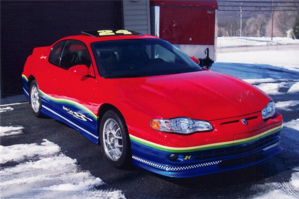 "2000 CHEVROLET MONTE CARLO SS COUPE ""JEFF GORDON EDITION"" - Front 3/4 - 64298"