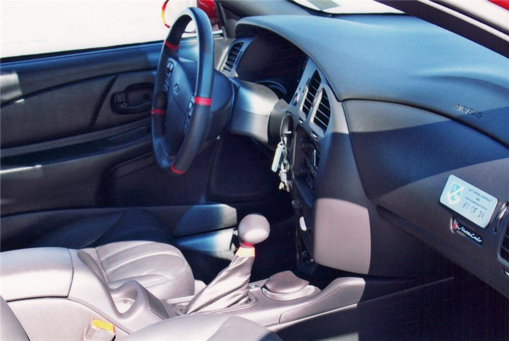 "2000 CHEVROLET MONTE CARLO SS COUPE ""JEFF GORDON EDITION"" - Interior - 64298"