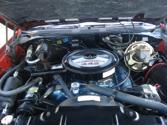1970 OLDSMOBILE 442 CONVERTIBLE - Engine - 64299