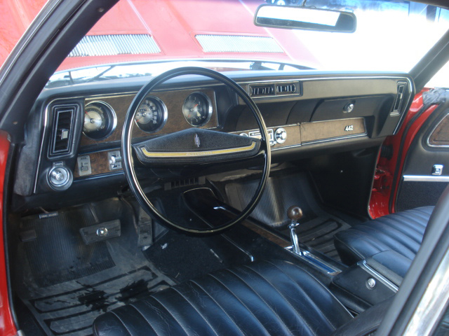 1970 OLDSMOBILE 442 CONVERTIBLE - Interior - 64299