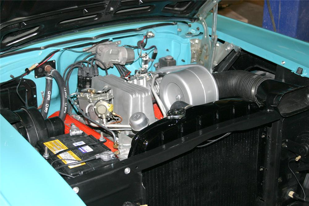 1957 CHEVROLET BEL AIR FI CONVERTIBLE - Engine - 64308