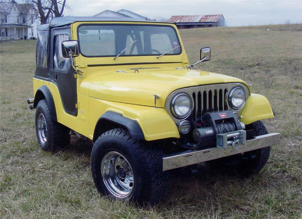 1979 JEEP CJ-5 CUSTOM CONVERTIBLE - Front 3/4 - 64325