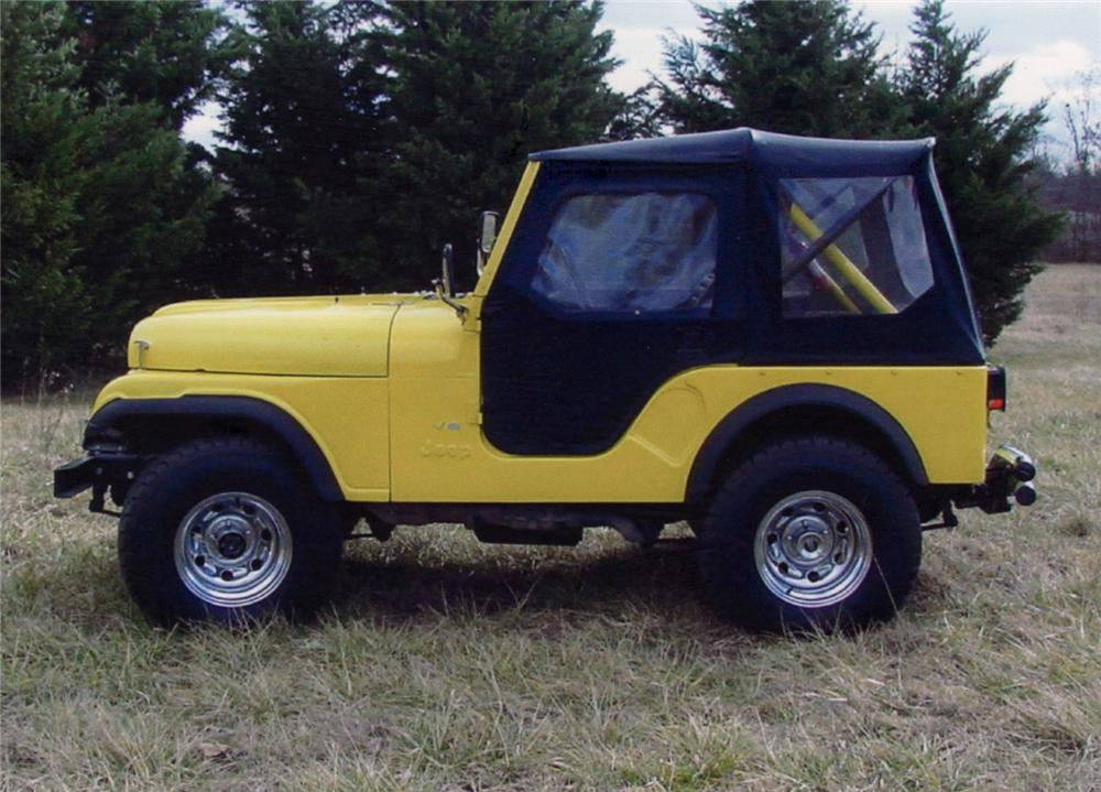 1979 JEEP CJ-5 CUSTOM CONVERTIBLE - Side Profile - 64325