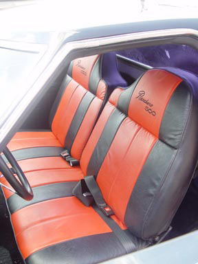 1976 FORD RANCHERO 500 CUSTOM PICKUP - Interior - 64327
