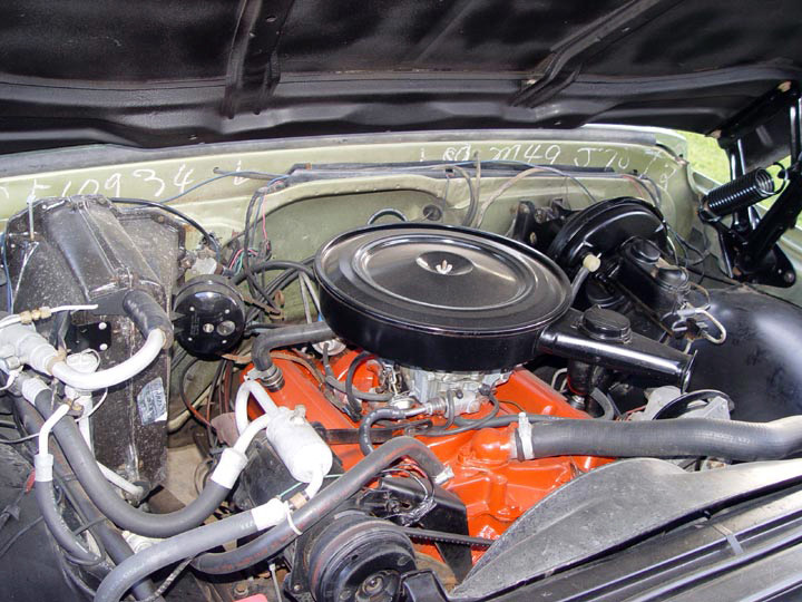 1970 CHEVROLET C-10 FLEETSIDE PICKUP - Engine - 64331