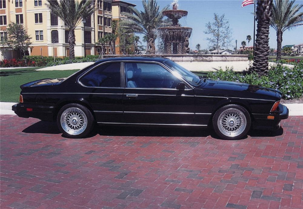 1987 BMW 635 CSI M6 2 DOOR COUPE - Side Profile - 64338