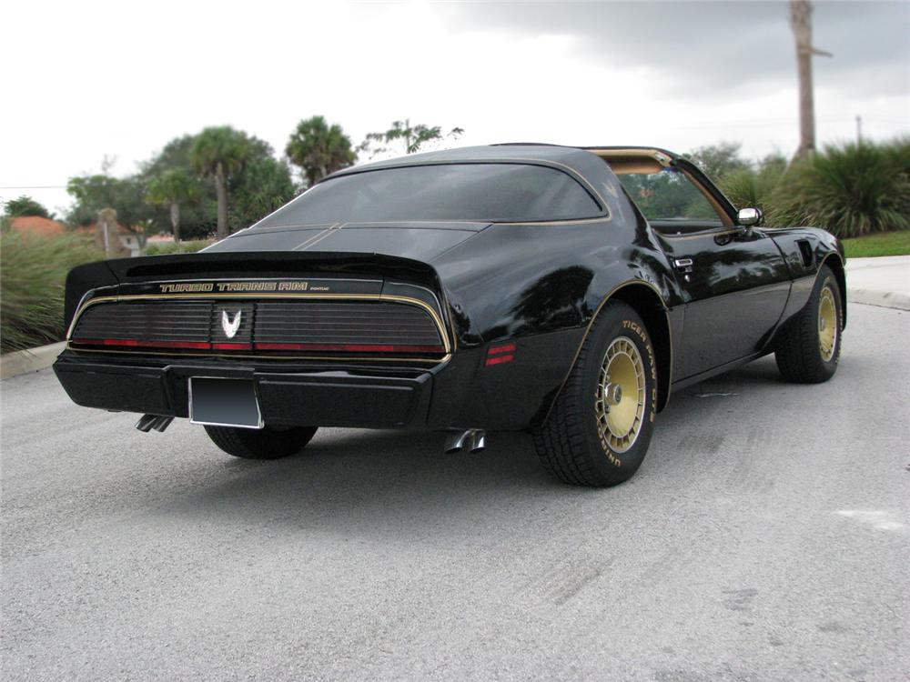 1981 PONTIAC TRANS AM TURBO T-TOP - Rear 3/4 - 64339
