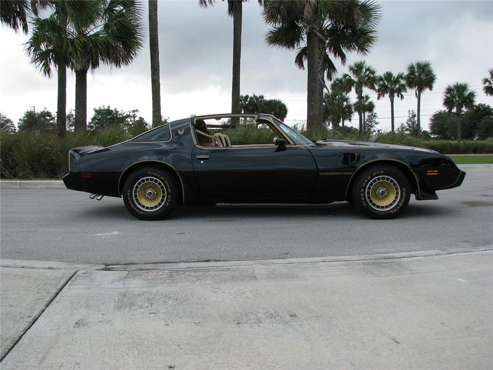 1981 PONTIAC TRANS AM TURBO T-TOP - Side Profile - 64339