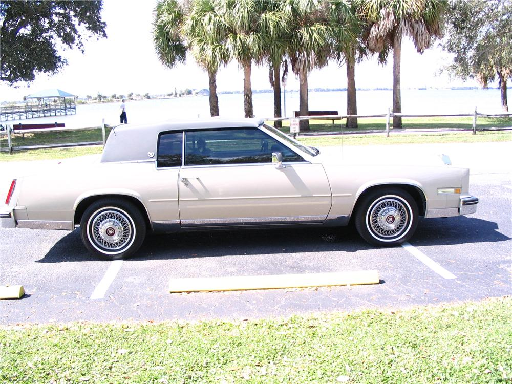 1984 CADILLAC ELDORADO 2 DOOR HARDTOP - Side Profile - 64349