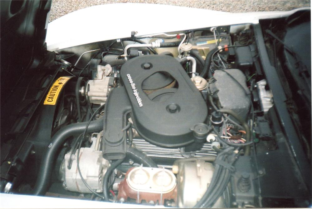 1982 CHEVROLET CORVETTE COUPE - Engine - 64355