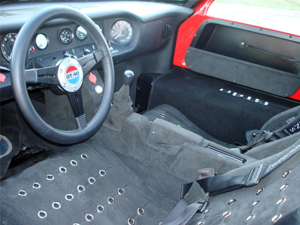 1966 SUPERFORMANCE GT40 RE-CREATION - Interior - 64360
