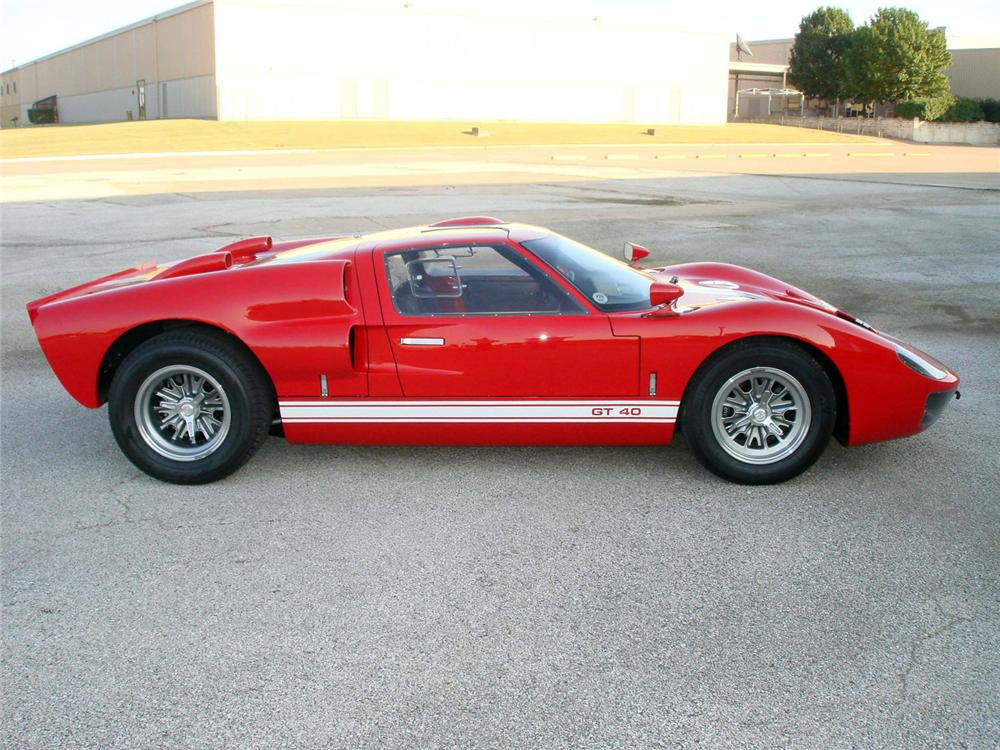 1966 SUPERFORMANCE GT40 RE-CREATION - Side Profile - 64360