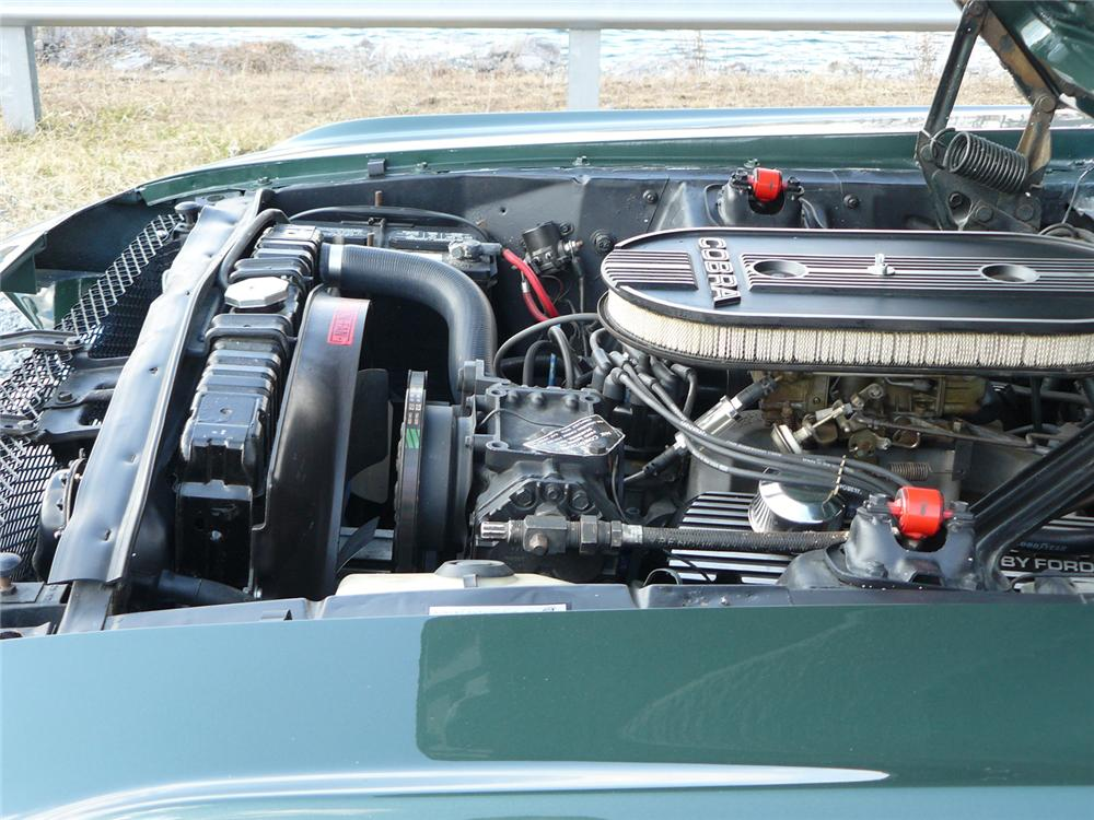 1968 SHELBY GT350 CONVERTIBLE - Engine - 64363