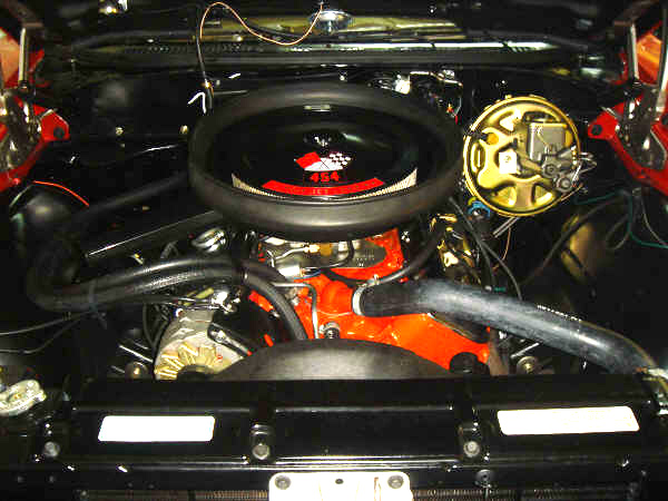 1970 CHEVROLET CHEVELLE SS 454 2 DOOR  HARDTOP - Engine - 64368