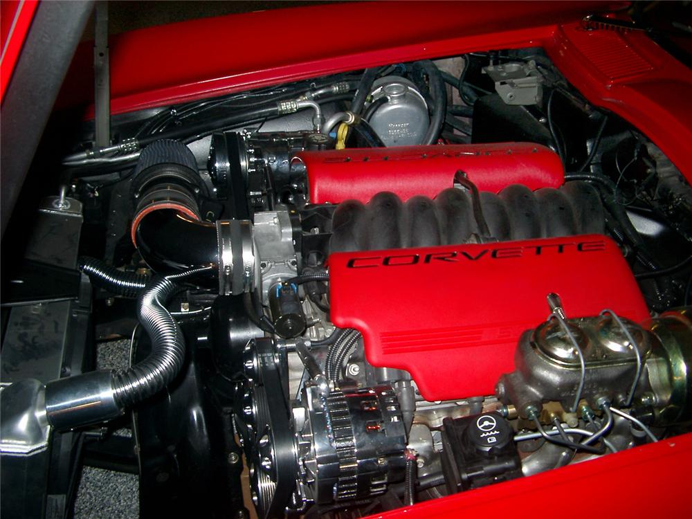 1965 CHEVROLET CORVETTE CUSTOM CONVERTIBLE - Engine - 64373
